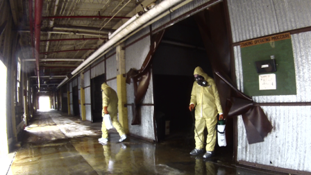 Building Decontamination with MuniRem solution